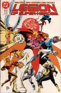 Cover Thumbnail for Legion of Super-Heroes (DC, 1984 series) #41