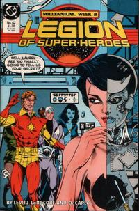 Cover Thumbnail for Legion of Super-Heroes (DC, 1984 series) #42