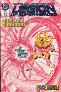 Cover Thumbnail for Legion of Super-Heroes (DC, 1984 series) #44