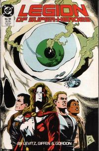 Cover Thumbnail for Legion of Super-Heroes (DC, 1984 series) #58