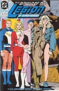 Cover Thumbnail for Legion of Super-Heroes (DC, 1989 series) #8