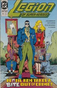 Cover Thumbnail for Legion of Super-Heroes (DC, 1989 series) #11