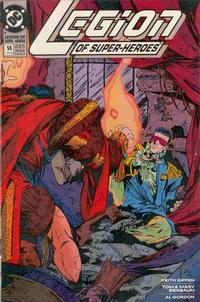 Cover Thumbnail for Legion of Super-Heroes (DC, 1989 series) #14