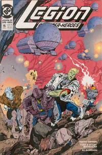 Cover Thumbnail for Legion of Super-Heroes (DC, 1989 series) #15