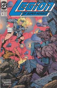 Cover Thumbnail for Legion of Super-Heroes (DC, 1989 series) #16