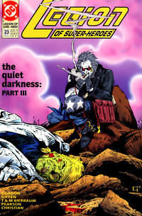 Cover Thumbnail for Legion of Super-Heroes (DC, 1989 series) #23
