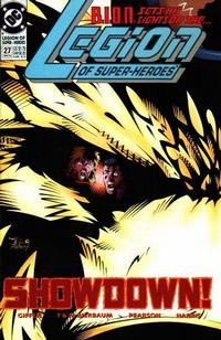 Cover Thumbnail for Legion of Super-Heroes (DC, 1989 series) #27