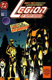 Cover Thumbnail for Legion of Super-Heroes (DC, 1989 series) #33