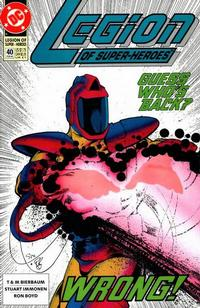Cover Thumbnail for Legion of Super-Heroes (DC, 1989 series) #40