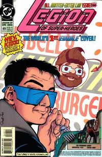 Cover Thumbnail for Legion of Super-Heroes (DC, 1989 series) #49