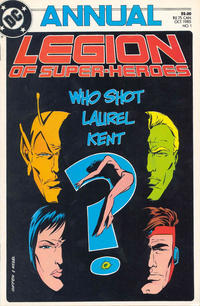 Cover Thumbnail for Legion of Super-Heroes Annual (DC, 1985 series) #1