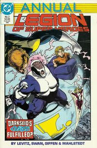 Cover Thumbnail for Legion of Super-Heroes Annual (DC, 1985 series) #2