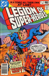Cover Thumbnail for The Legion of Super-Heroes (DC, 1980 series) #259