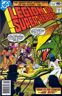 Cover Thumbnail for The Legion of Super-Heroes (DC, 1980 series) #260