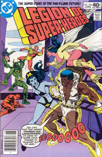 Cover Thumbnail for The Legion of Super-Heroes (DC, 1980 series) #264