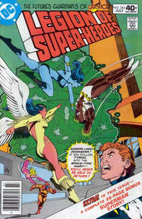 Cover Thumbnail for The Legion of Super-Heroes (DC, 1980 series) #265