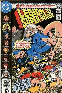 Cover Thumbnail for The Legion of Super-Heroes (DC, 1980 series) #268 [Direct]