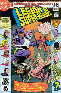 Cover Thumbnail for The Legion of Super-Heroes (DC, 1980 series) #269 [Direct]
