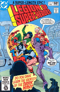 Cover Thumbnail for The Legion of Super-Heroes (DC, 1980 series) #270 [Direct]