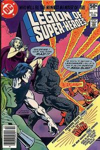 Cover Thumbnail for The Legion of Super-Heroes (DC, 1980 series) #272