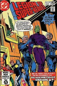 Cover Thumbnail for The Legion of Super-Heroes (DC, 1980 series) #273 [Direct]