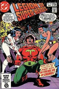 Cover Thumbnail for The Legion of Super-Heroes (DC, 1980 series) #275 [Direct]