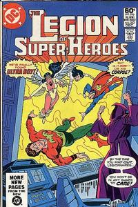 Cover Thumbnail for The Legion of Super-Heroes (DC, 1980 series) #282 [Direct]