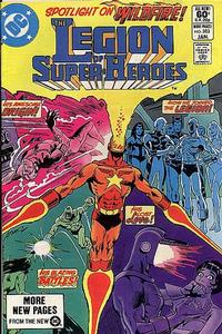 Cover Thumbnail for The Legion of Super-Heroes (DC, 1980 series) #283 [Direct]