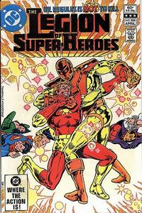 Cover Thumbnail for The Legion of Super-Heroes (DC, 1980 series) #286 [Direct]