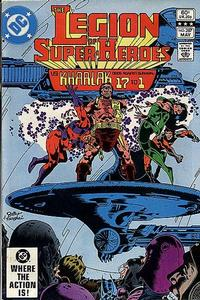 Cover Thumbnail for The Legion of Super-Heroes (DC, 1980 series) #287 [Direct]