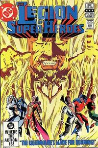 Cover Thumbnail for The Legion of Super-Heroes (DC, 1980 series) #288 [Direct]