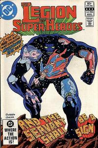 Cover Thumbnail for The Legion of Super-Heroes (DC, 1980 series) #290 [Direct]