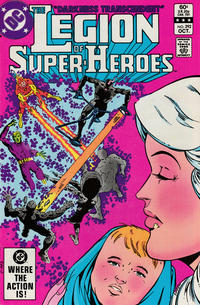 Cover Thumbnail for The Legion of Super-Heroes (DC, 1980 series) #292 [Direct]