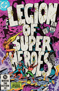 Cover Thumbnail for The Legion of Super-Heroes (DC, 1980 series) #293 [Direct]