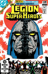 Cover Thumbnail for The Legion of Super-Heroes (DC, 1980 series) #294 [Direct]