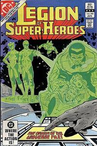 Cover Thumbnail for The Legion of Super-Heroes (DC, 1980 series) #295 [Direct]