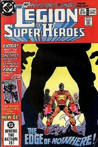 Cover Thumbnail for The Legion of Super-Heroes (DC, 1980 series) #298 [Direct-Sales]