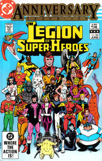 Cover Thumbnail for The Legion of Super-Heroes (DC, 1980 series) #300 [Direct]