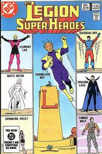 Cover Thumbnail for The Legion of Super-Heroes (DC, 1980 series) #301 [Direct-Sales]