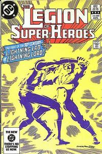 Cover Thumbnail for The Legion of Super-Heroes (DC, 1980 series) #302 [Direct]