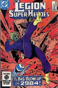 Cover Thumbnail for The Legion of Super-Heroes (DC, 1980 series) #311 [Direct]