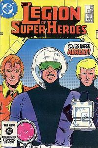 Cover Thumbnail for The Legion of Super-Heroes (DC, 1980 series) #312 [Direct]