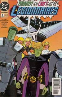 Cover Thumbnail for Legionnaires (DC, 1993 series) #8 [Direct Sales]
