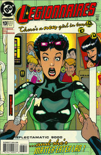 Cover Thumbnail for Legionnaires (DC, 1993 series) #13 [Direct Sales]