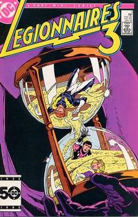 Cover Thumbnail for Legionnaires Three [Legionnaires 3] (DC, 1986 series) #3 [Direct]