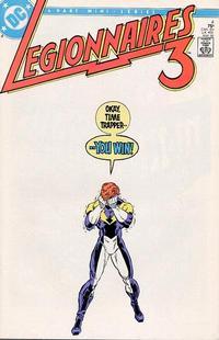 Cover Thumbnail for Legionnaires Three [Legionnaires 3] (DC, 1986 series) #4 [Direct]