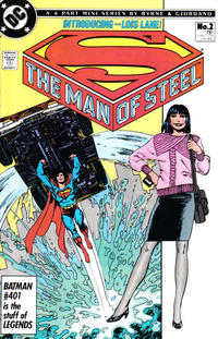 Cover Thumbnail for The Man of Steel (DC, 1986 series) #2 [Direct]