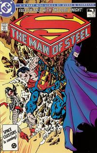 Cover Thumbnail for The Man of Steel (DC, 1986 series) #3 [Direct]