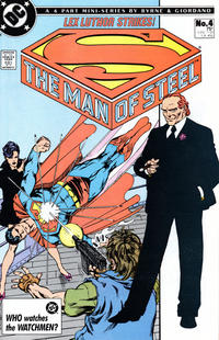 Cover Thumbnail for The Man of Steel (DC, 1986 series) #4 [Direct]
