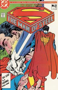 Cover Thumbnail for The Man of Steel (DC, 1986 series) #5 [Direct]